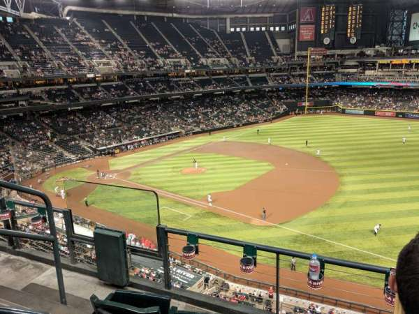 Chase Field, sección: 306, fila: 3, asiento: 16