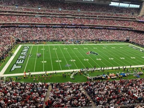 NRG Stadium, sección: 537, fila: G, asiento: 4