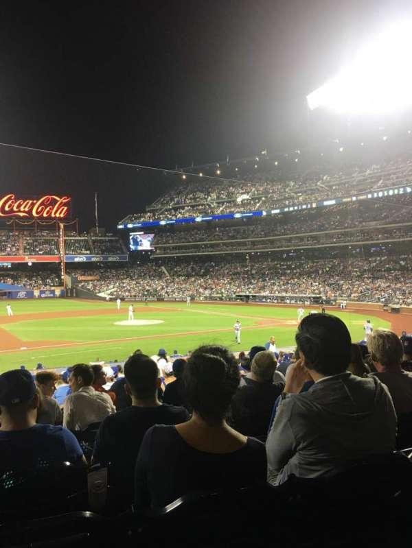 Citi Field, sección: 122, fila: 22, asiento: 16