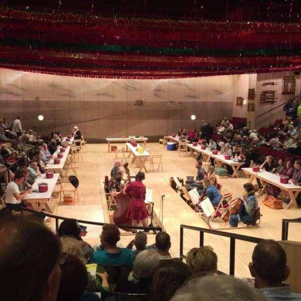 Circle in the Square Theatre, sección: Orchestra 100 (Odd), fila: G, asiento: 107