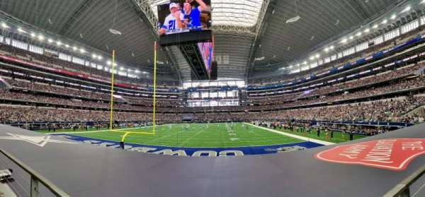AT&T Stadium, sección: 122, fila: 8, asiento: 12