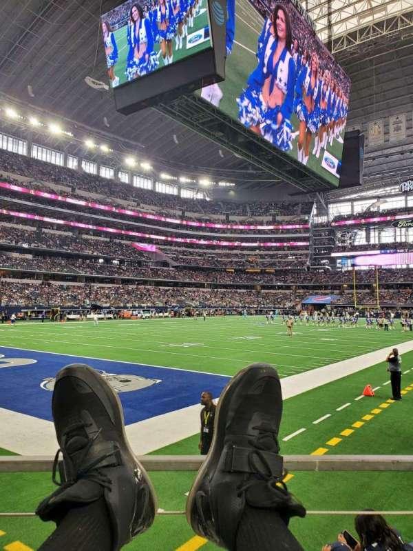 AT&T Stadium, sección: 120, fila: A, asiento: 1