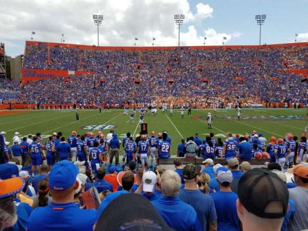 Ben Hill Griffin Stadium, sección: 12, fila: 10, asiento: 25