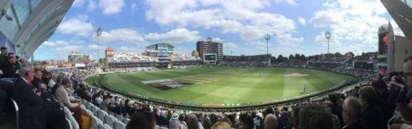 Trent Bridge, sección: Bridgeford Road Stand, fila: X, asiento: 67