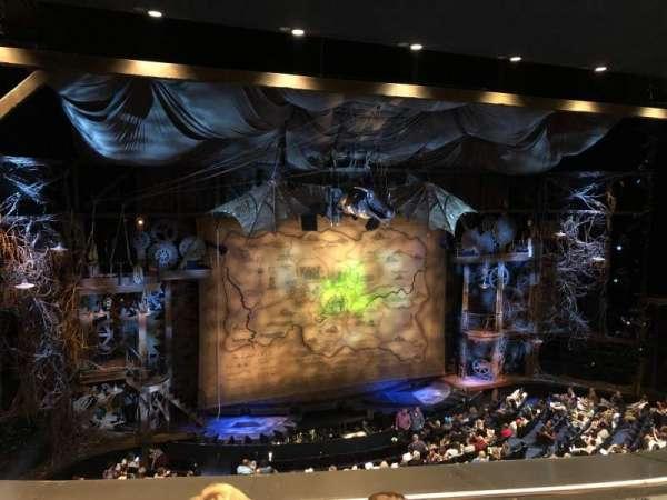 Gershwin Theatre, sección: Front Mezzanine L, fila: C, asiento: 9