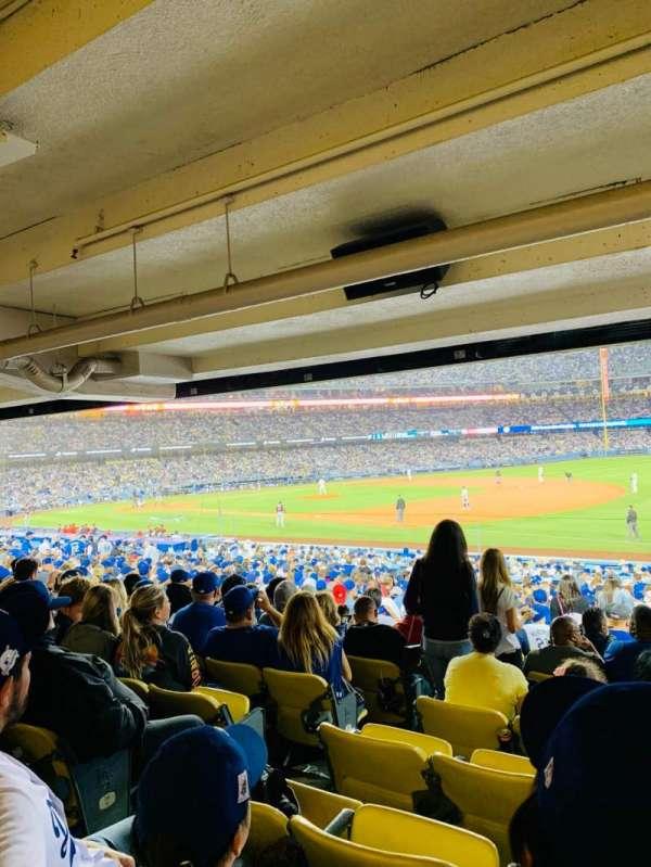 Dodger Stadium, sección: 36FD, fila: X, asiento: 6