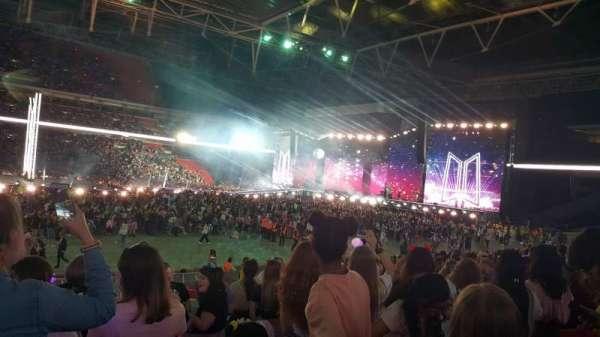 Wembley Stadium, sección: 101, fila: 20, asiento: 45
