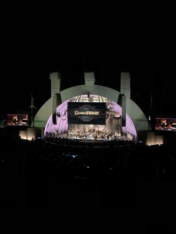 Hollywood Bowl, sección: M2, fila: 3, asiento: 106