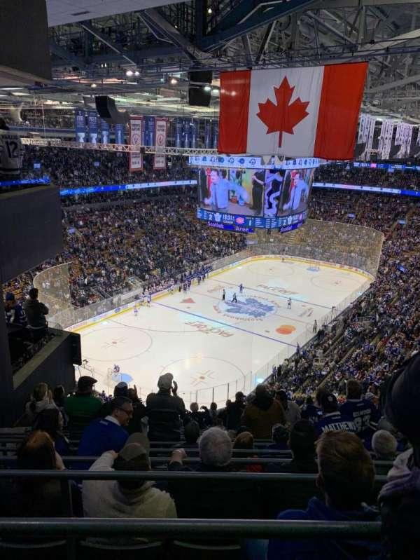 Scotiabank Arena, sección: 313, fila: 15, asiento: 6