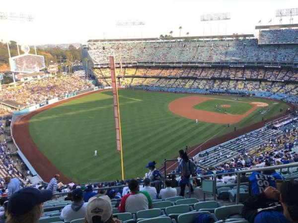 Dodger Stadium, sección: 53RS, fila: HH, asiento: 4