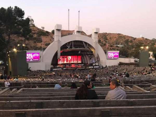 Hollywood Bowl, sección: K1, fila: 11, asiento: 18