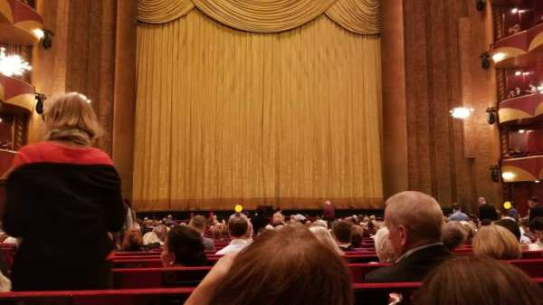 Metropolitan Opera House - Lincoln Center, sección: Orch, fila: X, asiento: 102