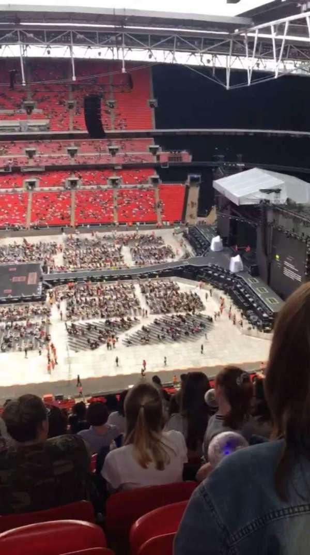 Wembley Stadium, sección: 551, fila: 33, asiento: 355
