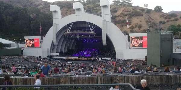 Hollywood Bowl, sección: F1, fila: 5, asiento: 5