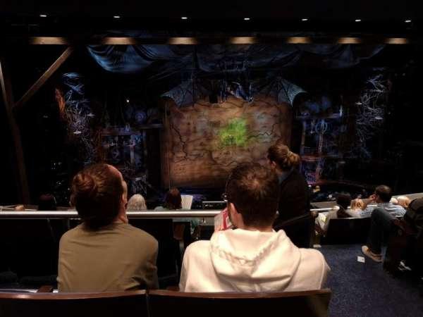 Gershwin Theatre, sección: Rear Mezzanine L, fila: G, asiento: 3
