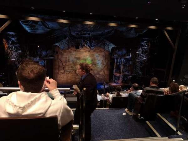 Gershwin Theatre, sección: Rear Mezzanine L, fila: G, asiento: 1