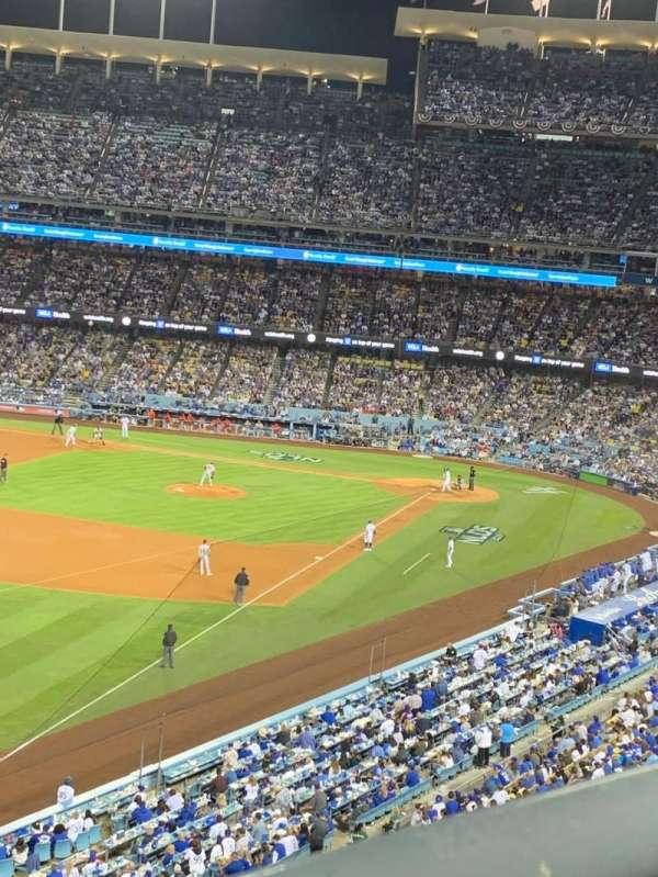 Dodger Stadium, sección: 47RS, fila: A, asiento: 6