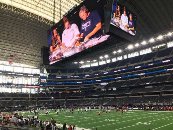 AT&T Stadium, sección: 103, fila: 8, asiento: 9