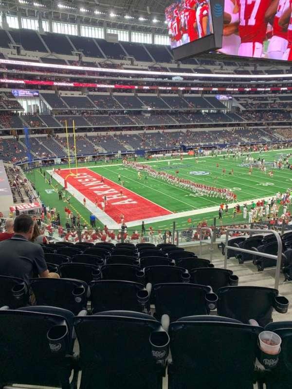 AT&T Stadium, sección: 242, fila: 9, asiento: 3