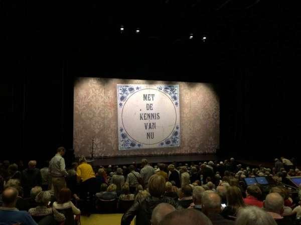 Parktheater Eindhoven, sección: Grote Zaal, fila: 16, asiento: 14