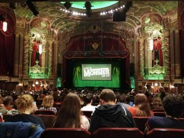 Kings Theatre (Brooklyn), sección: 6, fila: II, asiento: 108