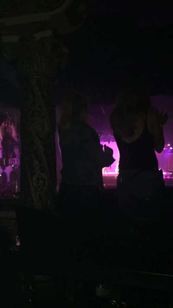 Aragon Ballroom, sección: ADA