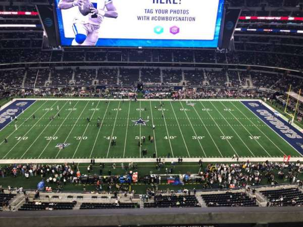 AT&T Stadium, sección: 443, fila: 1, asiento: 15