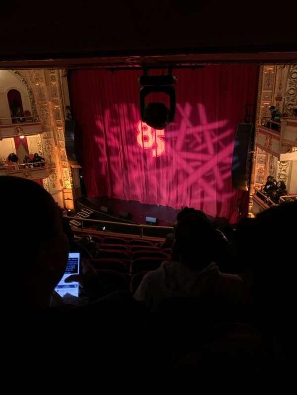 The Apollo Theater, sección: RLWMZ, fila: H, asiento: 15-17