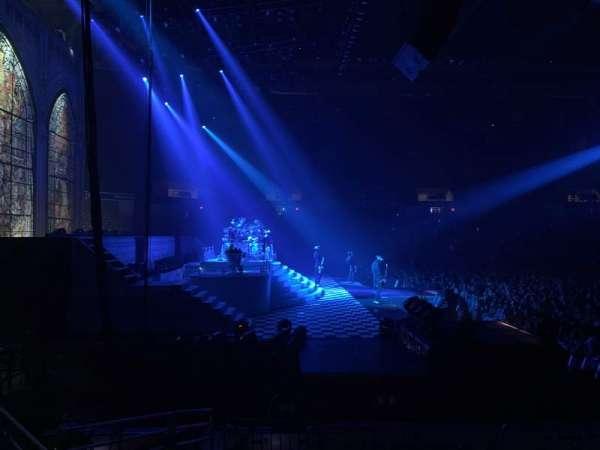 DCU Center, sección: 110, fila: MM, asiento: 8