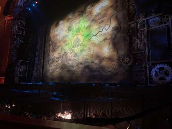 Fox Theatre (Atlanta), sección: Orchestra RC, fila: A, asiento: 70