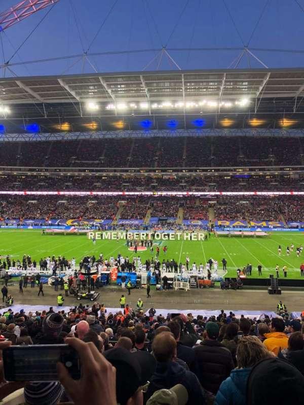 Wembley Stadium, sección: 122, fila: 39, asiento: 298
