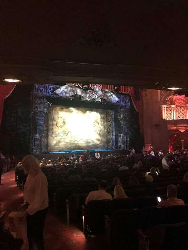 Fox Theatre (Atlanta), sección: Orchestra L, fila: CC, asiento: 3