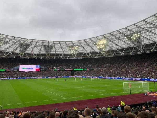 London Stadium, sección: 118, fila: 18, asiento: 107
