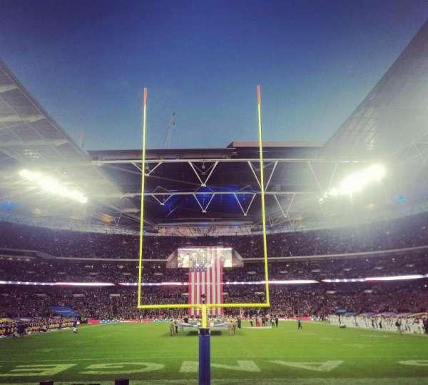 Wembley Stadium, sección: 134, fila: 8, asiento: 1