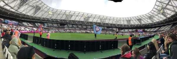 London Stadium, sección: 133, fila: 2, asiento: 344