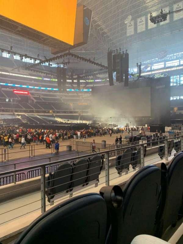 AT&T Stadium, sección: C112, fila: 5, asiento: 10