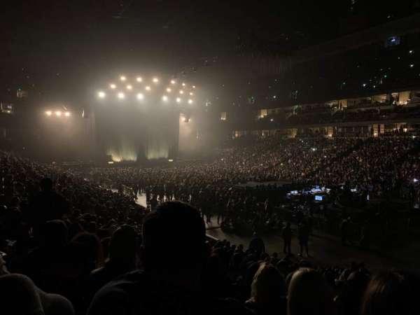 Honda Center, sección: 204, fila: Q, asiento: 7