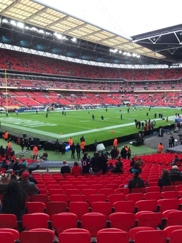 Wembley Stadium, sección: 128, fila: 26, asiento: 128
