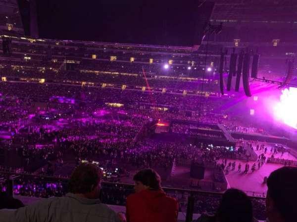 AT&T Stadium, sección: C309, fila: 3, asiento: 8