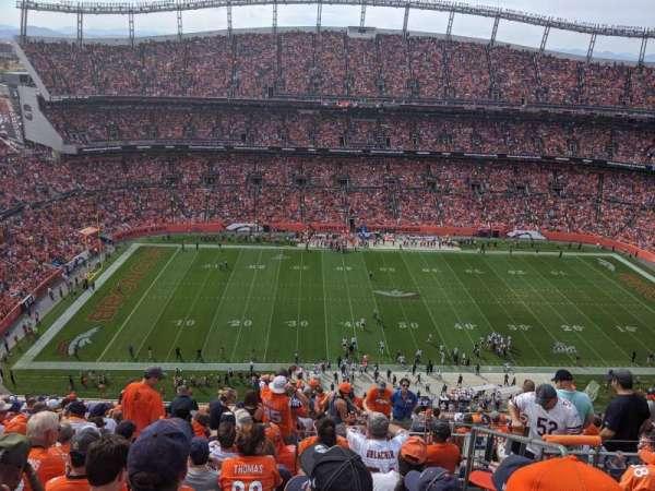 Empower Field at Mile High Stadium, sección: 536, fila: 18, asiento: 4