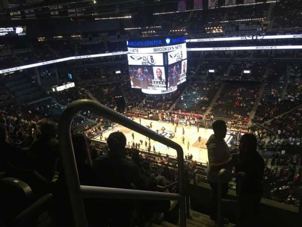 Barclays Center, sección: 221, fila: 11, asiento: 18