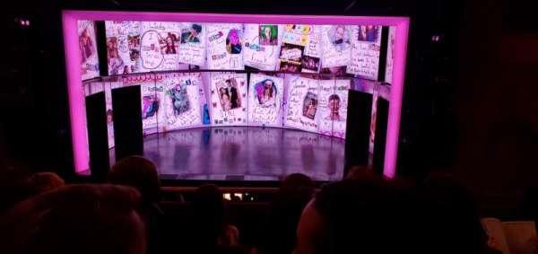August Wilson Theatre, sección: Mezzanine C, fila: D, asiento: 105