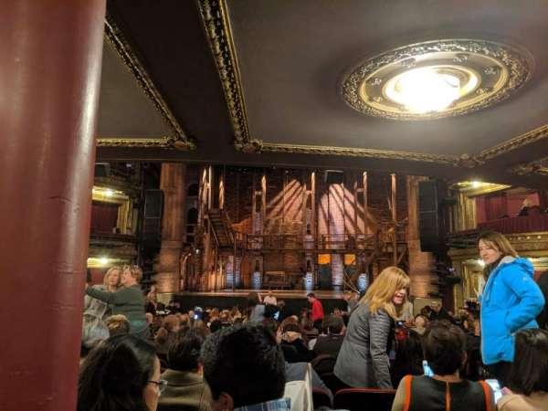 CIBC Theatre, sección: Orchestra C, fila: X, asiento: 117