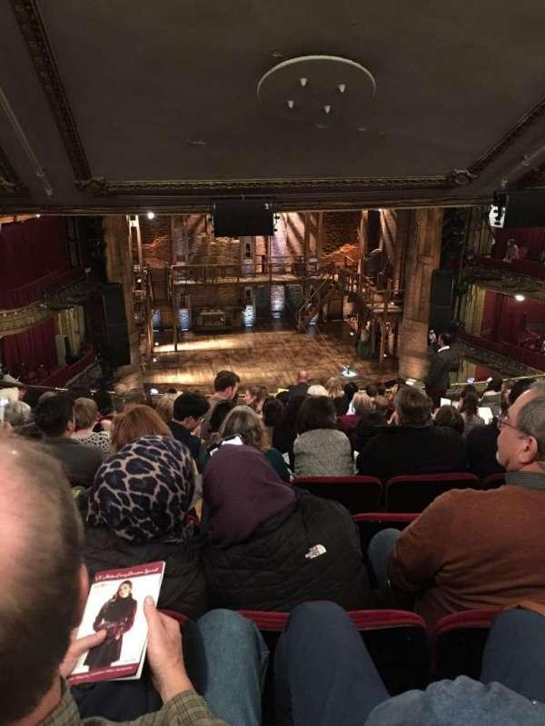 CIBC Theatre, sección: Mezzanine LC, fila: M, asiento: 317