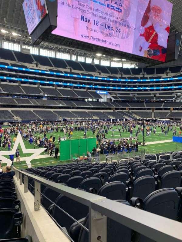 AT&T Stadium, sección: 142, fila: 16, asiento: 1
