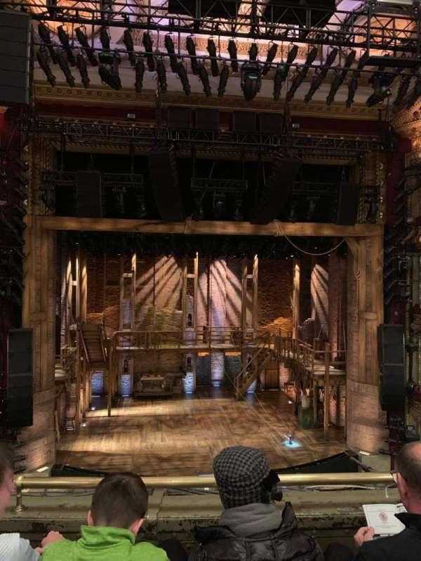CIBC Theatre, sección: Mezzanine LC, fila: D, asiento: 307