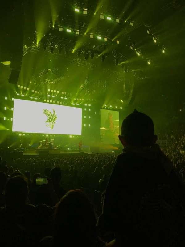 Honda Center, sección: 208, fila: D, asiento: 7