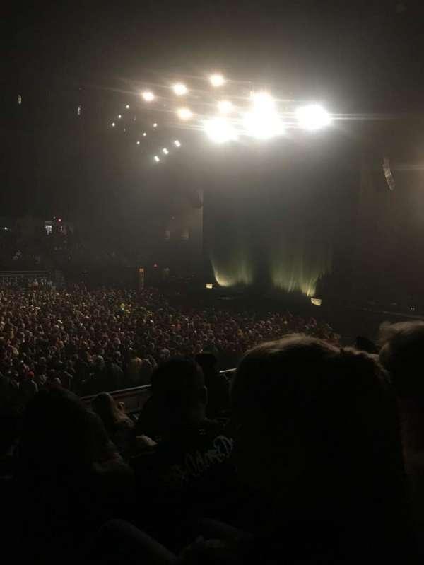 Pechanga Arena, sección: L13, fila: 6, asiento: 11