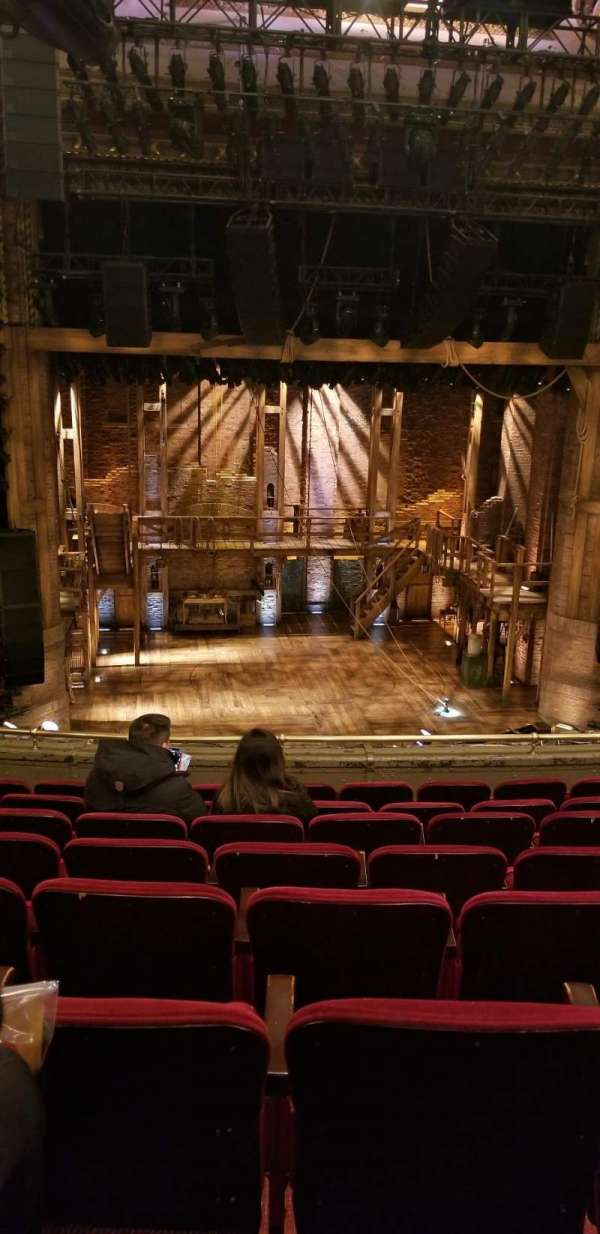 CIBC Theatre, sección: Mezzanine LC, fila: H, asiento: 313