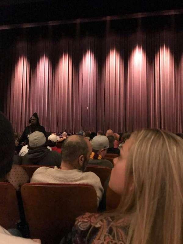 Chicago Theatre, sección: MNFL4R, fila: FF, asiento: 408